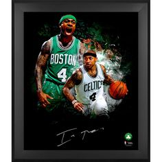 "Isaiah Thomas Boston Celtics Fanatics Authentic Framed Autographed 20"" x 24"" In-Focus Photograph - $199.99"