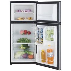 Vissani HVDR430BE Compact Refrigerator 4.3 cu. ft. Mini Refrigerator in Black 665679005284
