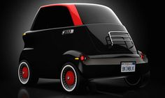 eSetta Electric Car Concept by Tony Weichselbraun inspired by the legendary BMW Isetta, made to be as compact as possible with its intent being set… Bmw Electric, Electric Car Concept, Urban Electric, Electric Vehicle, Bmw Isetta, Smart Auto, Smart Car, Concept Bmw, Automobile