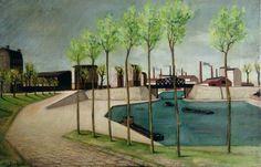 Henri Jannot, Le Canal de Lourcq, 1945
