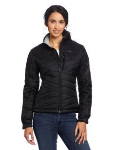 Outdoor Research Women's Breva Jacket by Outdoor Research. $100.95. Moisture wicking. Front zipper with internal stormflap. PrimaLoft® Eco 133g insulation. Two zippered handwarmer pockets; one doubles as a stuff sack. Zippered Napoleon pocket. When winter throws cold and damp conditions your way, reach for the synthetic insulation of the Breva Jacket™. Functional as both insulation or as an outer layer, the wind- and water-resistant fabric keeps the elements ...