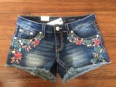 Image result for embroidered jeans