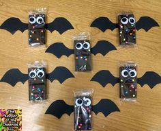 bat-brownies. Cute for school party.