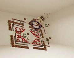 Handmade carpets by Faig Ahmed   http://ineedaguide.blogspot.it/2015/03/faig-ahmed-update.html #art #installation