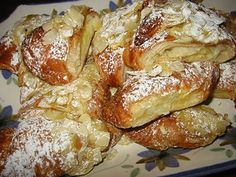 Gluten Free Almond Croissants