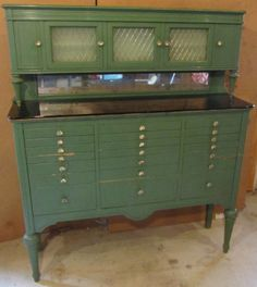 Antique American Dental Cabinet 1930s Classic