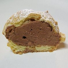 Chocolate Mousse Filled-Cream Puffs - Real Mom Kitchen - just want the chocolate mousse recipe for the cake