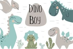 Ad: Dinosaurs by Larisa Vasileva on Dinosaur baby cute print set. Cool dino illustration for nursery t-shirt, kids apparel, lovely design for Die Dinos Baby, Baby Dinosaurs, Cute Dinosaur, Dinosaur Birthday, Baby Illustration, Graphic Illustration, Kids Watercolor, Kids Room Wall Art, Hello Kitty Wallpaper