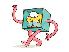 Think Inside the Box by Burnt Toast Creative, via Behance