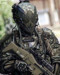 Airsoft hub is a social network that connects people with a passion for airsoft. Talk about the latest airsoft guns, tactical gear or simply share with others on this network Military Armor, Military Gear, Military Robot, Military Equipment, Suit Of Armor, Body Armor, Helmet Armor, Taktischer Helm, Tactical Armor