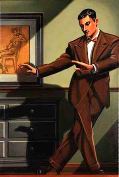 Kenton Nelson - Leaving the Room