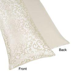 Pillowcase In Spanish Sweet Jojo Designs Trellis Full Length Double Zippered Body Pillow
