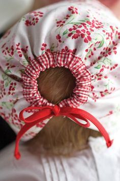 DIY baby bonnet