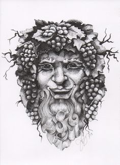 A portrait of Bacchus, god of wine http://www.jilianryan.com/blog/2017/3/29/a-portrait-of-bacchus-god-of-wine