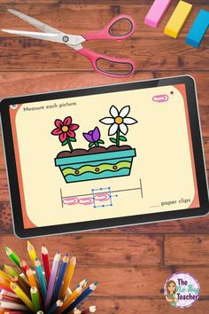 Teaching nonstandard measurement during distance learning? Check out these digital activities for easy and simple hands on practice. Assign through google classroom and your students can complete independently. Online teaching made awesome! Your first grade kids will love these digital activities as they drag and drop the units to measure the objects. Common core aligned to first grade standards for measurement and data.