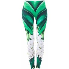 DUE Fashion - Orchid Leggings ($56) ❤ liked on Polyvore featuring pants, leggings, high-waisted leggings, bright colored leggings, stretch waist pants, stretchy leggings and stretch leggings