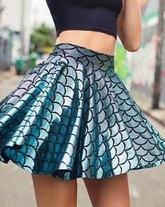 Mermaid Cheerleader Skirt - by Black Milk Clothing Cheerleader Skirt, Cheerleading, Dress Skirt, Dress Up, Skirt Outfits, Mode Kawaii, Cooler Look, Black Milk Clothing, Mode Style