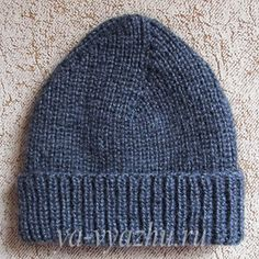 "Теплая шапочка ""унисекс"" для зимы"
