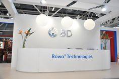 Area accoglienza stand Rowa Technologies