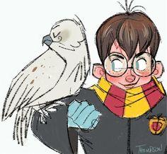 Harry Potter. Insta - @sthompsonart