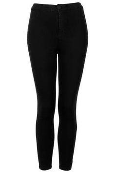 Petite MOTO Black Joni Jeans - Petite  - Clothing