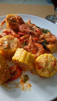 Spicy Shrimp Corn