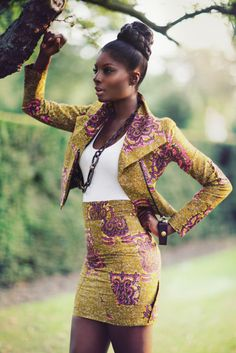 We want you to look at the images of Ankara style fashion outfits and tell us what elements that you would pick from them to use for your own wardrobe. African Inspired Fashion, African Print Fashion, Africa Fashion, Fashion Prints, Ankara Fashion, African Prints, African Fabric, Ghanaian Fashion, Nigerian Fashion
