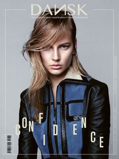 Elisabeth Erm in Louis Vuitton for DANSK