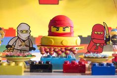 Lego NinjaGo Birthday Party Ideas | The Cake