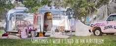 MAMA LAmbert's Airstream // Miranda lambert & the junk gypsies