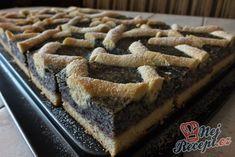 Poppy Grinder - Classic Poppy Seed Cake a little differently NejRecept. Poppy Seed Cake, Czech Recipes, 20 Min, Apple Pie, Tiramisu, Waffles, Cookies, Breakfast, Sweet