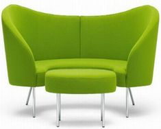 Green Curved Sofas Sets