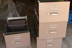 It seems like everyone I know owns a big, old, not-very-pretty file cabinet. A piece they inherited from an office job or from Mom's house or tha...
