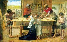 Sir John Everett Millias - Christ in the House of His Parents (The Carpenter's Shop) by Jay Tilston, via Flickr