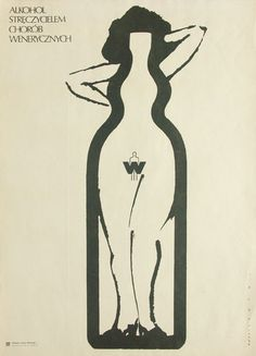 The largest collection of Polish posters Polish Movie Posters, Graphic Art, Graphic Design, Typographic Poster, Inspirational Posters, Art Icon, Cool Cartoons, Illustrations And Posters, Vintage Posters
