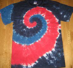 4th of July tie dye shirt