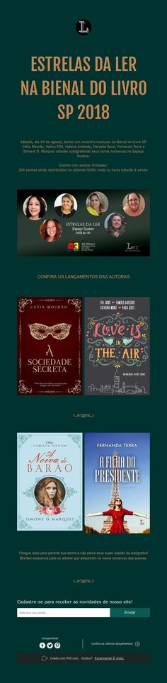 27 best mais livros images on pinterest books the skulls and estrelas da ler na bienal do livro de sp 2018 fandeluxe Images