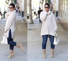 Full Figured & Fashionable Plus size fashion for women, Plus size street style looks