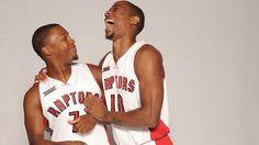 Lowry and Derozan Toronto Raptors, Nba, Balls, Sports, Hs Sports, Sport