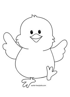 easter chicks coloring pages - photo#17