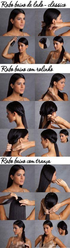 Penteados – Faça você mesma!!