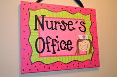 Custom Welcome Sign for Classroom or Office by katieringer on Etsy Nurse Office Decor, School Nurse Office, Nurse Decor, I School, School Nursing, Nurse Bulletin Board, Bulletin Board Design, Bulletin Boards, Nurse Gifts