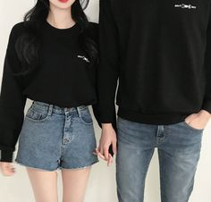 Korean Fashion – How to Dress up Korean Style – Designer Fashion Tips Matching Couple Outfits, Twin Outfits, Matching Couples, Outfits For Teens, Cute Couples, Trendy Outfits, Summer Outfits, Cute Outfits, Fashion Outfits