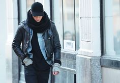 Tommy Ton at New York Fashion Week Fall 2012- Men's Street Style