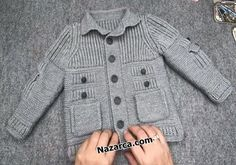 Mens Knit Sweater Pattern, Sweater Knitting Patterns, Hand Knitting, Free Crochet, Knit Crochet, Baby Sweaters, Fashion, Kids Fashion, Toddler Girls
