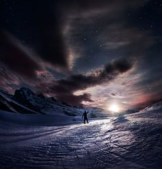 """""""Blinded by the Moon"""" by Max Rive"""