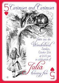 Julia's 5th Invitation