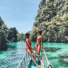 📍 Big Lagoon, El Nido, Palawan!🇵🇭 | 📸 Photo by @taraasturias 😉 Tag your travel buddies! Follow us @musttravelph and use the hashtag #musttravelph be featured! Like us on facebook fb.com/musttravelph. . Travel Ideas, Travel Photos, Snapchat Picture, Bikini, Philippines Travel, Dear Future, Palawan, How To Pose, Travel Memories