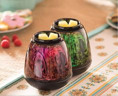 The ALL NEW Spring/Summer 2015 Tiger's Eye Scentsy Art Glass warmer is here! Elegant, hand-blown art glass in an organic tiger's eye pattern. Color-changing LED provides a spectrum of subtly changing light! To purchase yours today, go to my website here: https://katm.scentsy.us/Buy
