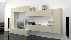 Salones MUEBLE SALÓN COLGADO CON ATRACTIVOS COLORES. Ref: SAL06 Mobelinde - Muebles a medida Barcelona. Fábrica y tiendas. Fabricación propia de muebles juveniles, armarios, dormitorios, salones, mesas y sillas, estudio y oficina, cocina, complementos.